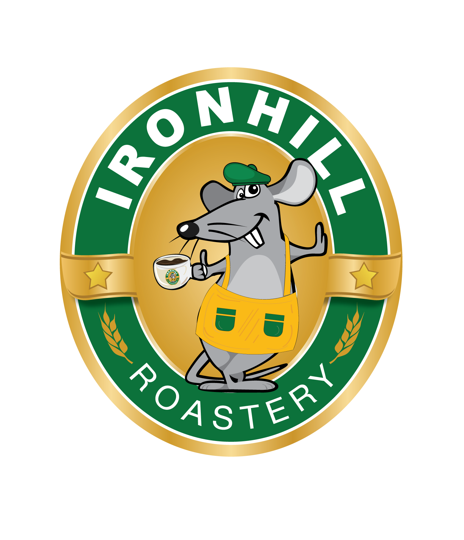 Ironhill Roastery Logo